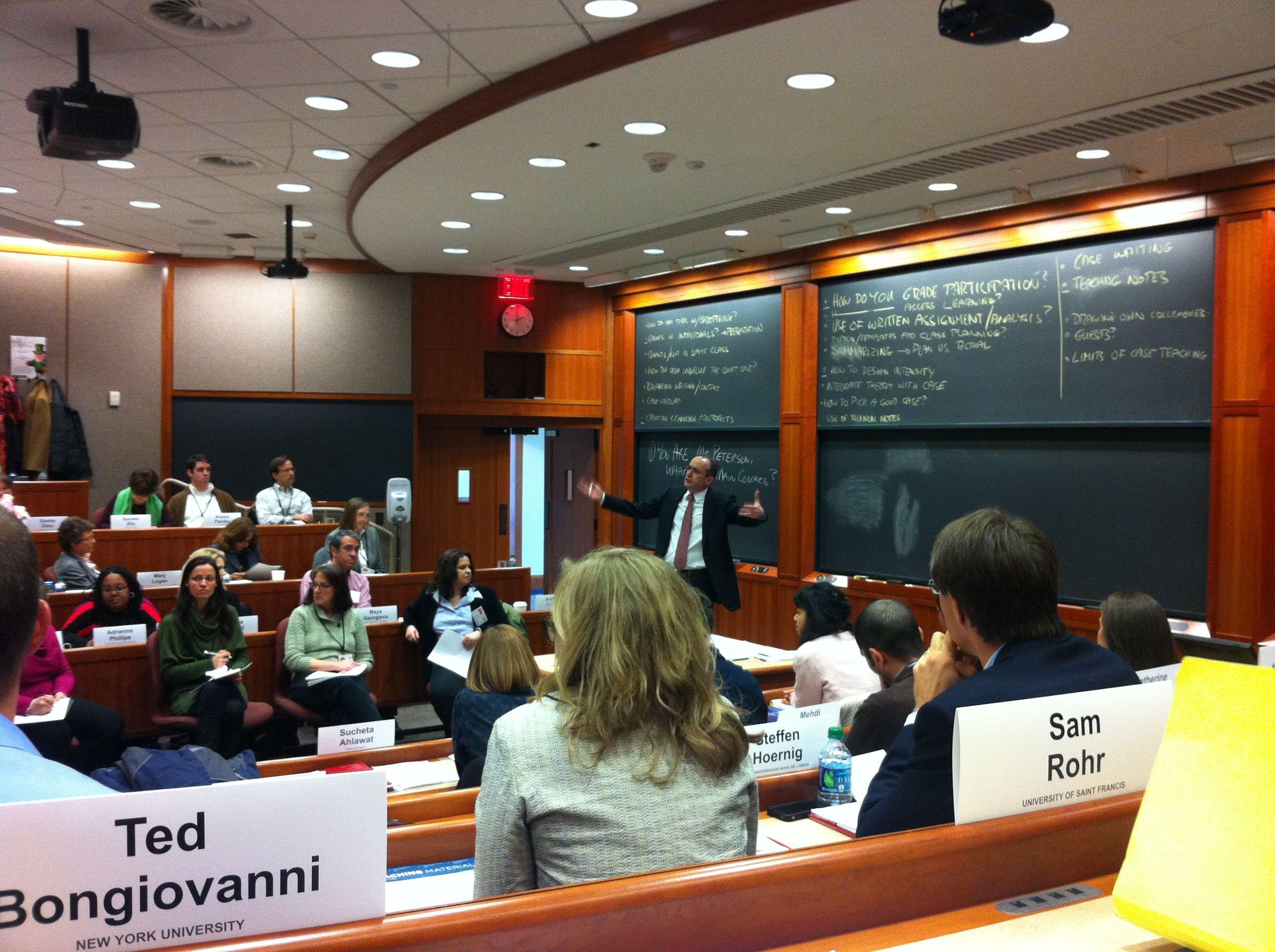 harvard business school case study siemens